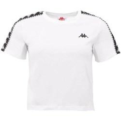 vaatteet Naiset Lyhythihainen t-paita Kappa Inula Tshirt Valkoiset