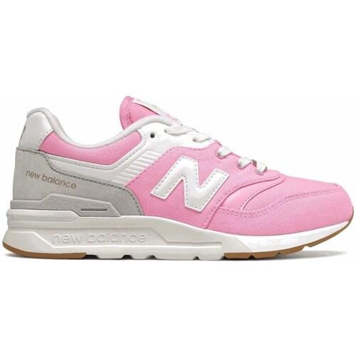 kengät Tytöt Matalavartiset tennarit New Balance 997 Vaaleanpunaiset
