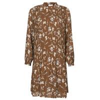 vaatteet Naiset Lyhyt mekko Esprit PER CHIFFON PRI Ruskea