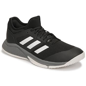 kengät Miehet Sisäurheilukengät adidas Performance Court Team Bounce M Musta