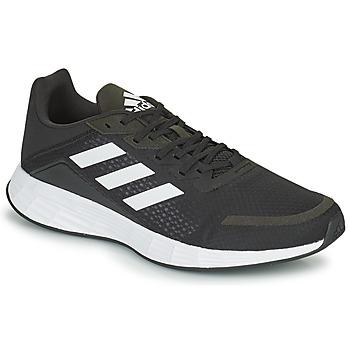 kengät Miehet Juoksukengät / Trail-kengät adidas Performance DURAMO SL Musta / Valkoinen