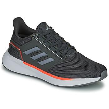 kengät Miehet Juoksukengät / Trail-kengät adidas Performance EQ19 RUN Musta