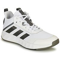 kengät Miehet Koripallokengät adidas Performance OWNTHEGAME 2.0 Valkoinen / Musta