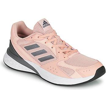 kengät Naiset Juoksukengät / Trail-kengät adidas Performance RESPONSE RUN Vaaleanpunainen
