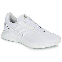 kengät Miehet Juoksukengät / Trail-kengät adidas Performance RUNFALCON 2.0 Valkoinen