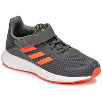 kengät Pojat Juoksukengät / Trail-kengät adidas Performance DURAMO SL C Harmaa / Punainen