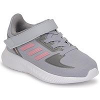 kengät Tytöt Juoksukengät / Trail-kengät adidas Performance RUNFALCON 2.0 I Harmaa / Vaaleanpunainen