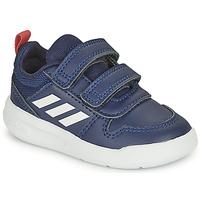 kengät Lapset Matalavartiset tennarit adidas Performance TENSAUR I Laivastonsininen / Valkoinen