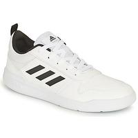 kengät Lapset Matalavartiset tennarit adidas Performance TENSAUR K Valkoinen / Musta