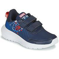 kengät Pojat Juoksukengät / Trail-kengät adidas Performance TENSAUR RUN C Sininen