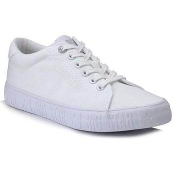 kengät Naiset Matalavartiset tennarit Big Star HH274216 Valkoiset