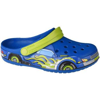 kengät Lapset Puukengät Crocs Fun Lab Truck Band Clog Bleu