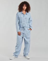 vaatteet Naiset Jumpsuits / Haalarit Levi's ROOMY JUMPSUIT Sininen