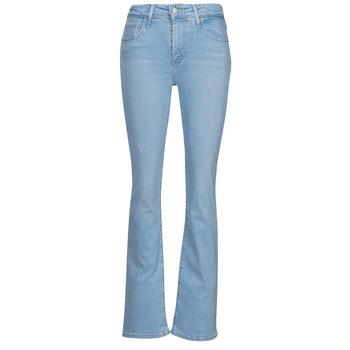 vaatteet Naiset Bootcut-farkut Levi's 726 HIGH RISE BOOTCUT Sininen