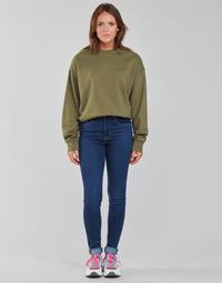 vaatteet Naiset Skinny-farkut Levi's 721 HIGH RISE SKINNY Sininen