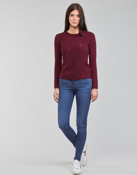 vaatteet Naiset Skinny-farkut Levi's 720 HIRISE SUPER SKINNY Sininen