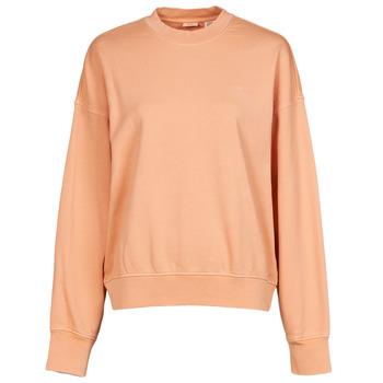 vaatteet Naiset Svetari Levi's WFH SWEATSHIRT Vaaleanpunainen