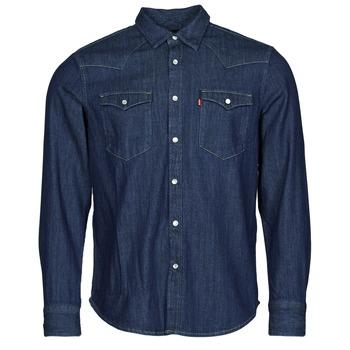 vaatteet Miehet Pitkähihainen paitapusero Levi's BARSTOW WESTERN STANDARD Sininen