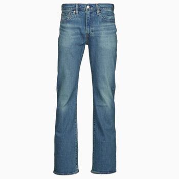 vaatteet Miehet Bootcut-farkut Levi's 527 SLIM BOOT CUT Sininen