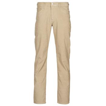 vaatteet Miehet 5-taskuiset housut Levi's 512 SLIM Beige