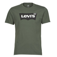 vaatteet Miehet Lyhythihainen t-paita Levi's HOUSEMARK GRAPHIC TEE Vihreä