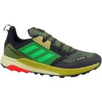 kengät Lapset Juoksukengät / Trail-kengät adidas Originals Terrex Trailmaker Vihreät