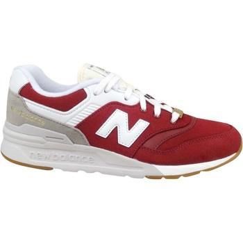 kengät Lapset Matalavartiset tennarit New Balance 997 Valkoiset, Punainen