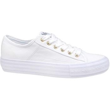 kengät Naiset Matalavartiset tennarit Lee Cooper Lcw 21 31 0121L Valkoiset