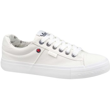 kengät Naiset Matalavartiset tennarit Lee Cooper Lcw 21 31 0001L Valkoiset