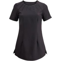 vaatteet Naiset Lyhythihainen t-paita Alexandra  Black
