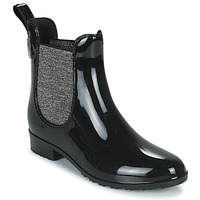 kengät Naiset Kumisaappaat Les Tropéziennes par M Belarbi RAINBOO Musta / Hopea