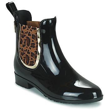 kengät Naiset Kumisaappaat Les Tropéziennes par M Belarbi RAINBOO Musta / Leopardi