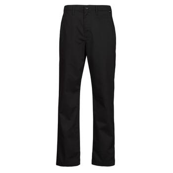 vaatteet Miehet Chino-housut / Porkkanahousut Vans AUTHENTIC CHINO LOOSE PANT Musta