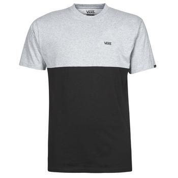 vaatteet Miehet Lyhythihainen t-paita Vans COLORBLOCK TEE Harmaa / Musta