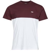 vaatteet Miehet Lyhythihainen t-paita Vans COLORBLOCK TEE Valkoinen