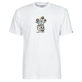 vaatteet Miehet Lyhythihainen t-paita Vans SPROUTING SS Valkoinen