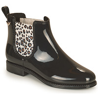 kengät Naiset Kumisaappaat Les Petites Bombes RAIN Musta / Leopardi