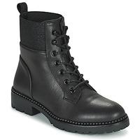 kengät Naiset Bootsit Les Petites Bombes AMBELLINE Musta