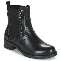 kengät Naiset Bootsit Les Petites Bombes ALONA Musta
