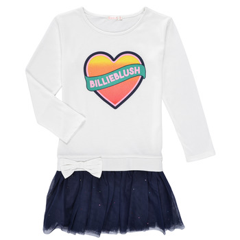vaatteet Tytöt Lyhyt mekko Billieblush FRENIA Valkoinen