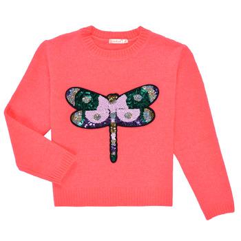 vaatteet Tytöt Neulepusero Billieblush VIANNE Vaaleanpunainen