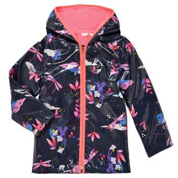 vaatteet Tytöt Parkatakki Billieblush SEMILA Laivastonsininen