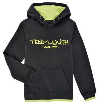 vaatteet Pojat Svetari Teddy Smith SICLASS HOODY Musta