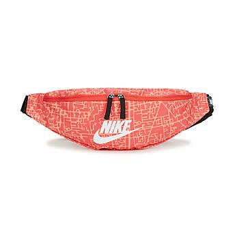 laukut Naiset Vyölaukku Nike NK HERITAGE WSTPCK FA21 AOP2 Vaaleanpunainen / Musta / Valkoinen