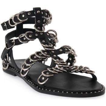 kengät Naiset Sandaalit ja avokkaat Mosaic 3010 VITELLO NERO Nero