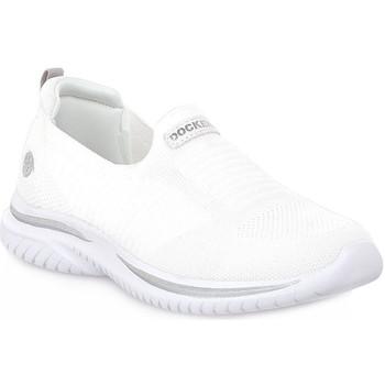 kengät Naiset Tennarit Dockers 591 TEXTILE SILVER Grigio