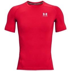 vaatteet Miehet Lyhythihainen t-paita Under Armour Heatgear Armour Punainen