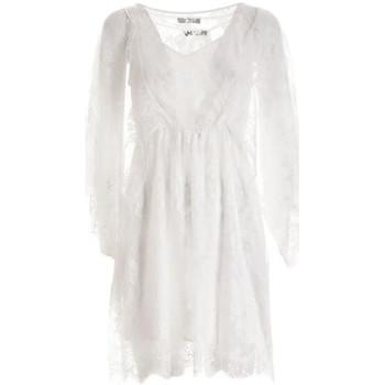 vaatteet Naiset Lyhyt mekko Fracomina F321SD2001W441G1 Valkoinen