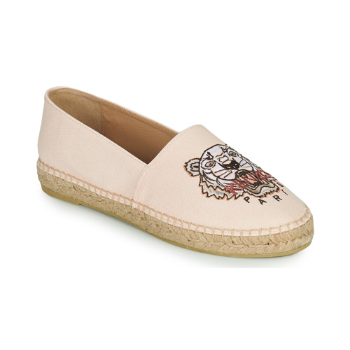 kengät Naiset Espadrillot Kenzo ESPADRILLES CLASSIC TIGER Vaaleanpunainen / Nude