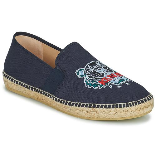 kengät Miehet Espadrillot Kenzo ESPADRILLE ELASTIC TIGER Sininen